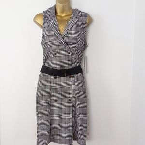 Almost famous Gingham dress size L